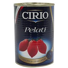 시리오 껍질 벗긴 토마토