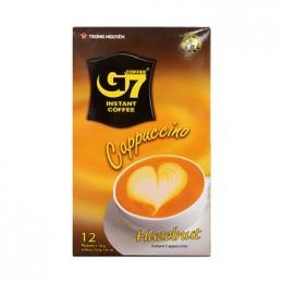 G7 카푸치노 헤이즐넛향 216g